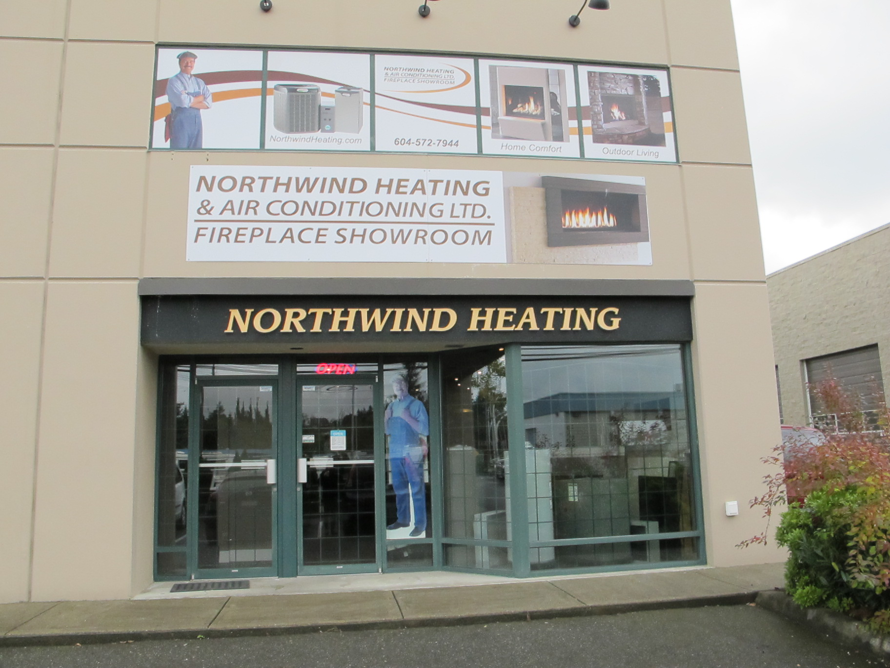 Northwind Heating Fireplaces Hot Water Tanks Patio Heaters